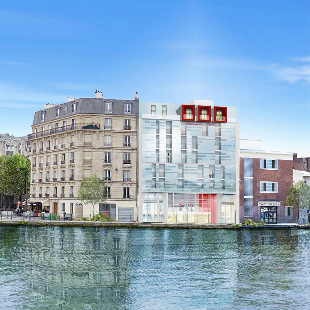 Residence hoteliere restaurant et salle de spectacle for Residence hoteliere