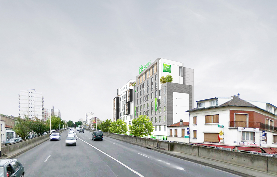 MIXED PROJECT IBIS STYLES HOTEL AND HOUSING – VILLEJUIF – FRANCE